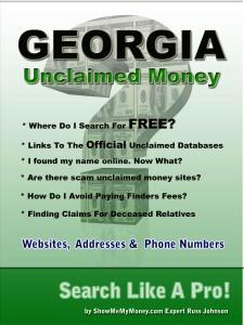 Georgia unclaimed money